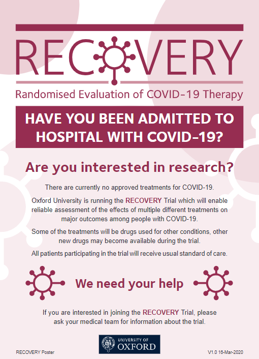 RECOVERY Trial poster