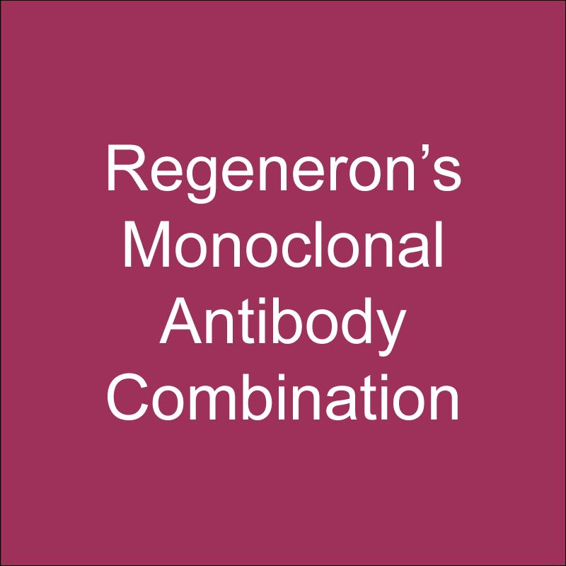 Regeneron's monoclonal antibody combination